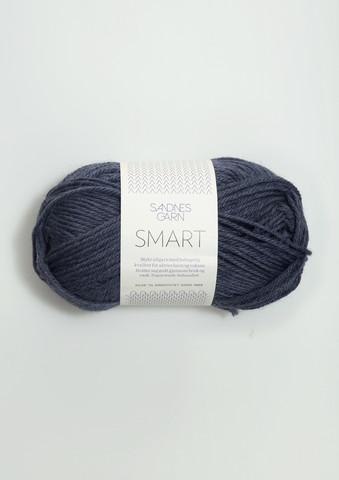 Sandnes Smart, blågrå melerad 6072