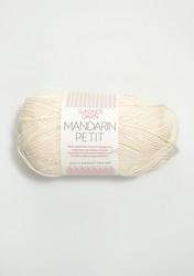 Sandnes Mandarin Petit, luonnonvalkoinen 1012
