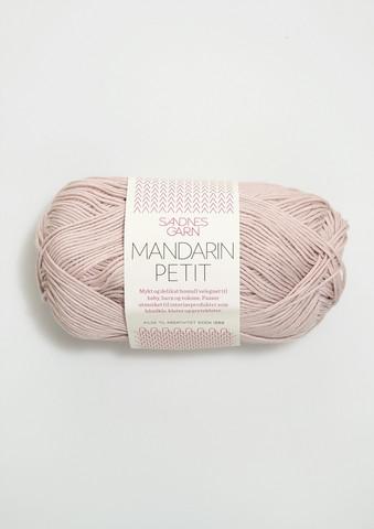 Sandnes Mandarin Petit, puderrosa 3511