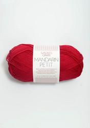 Sandnes Mandarin Petit, tummanpunainen 4418