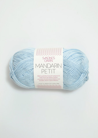 Sandnes Mandarin Petit, ljusblå 5930