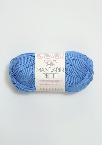 Sandnes Mandarin Petit, sininen 6015