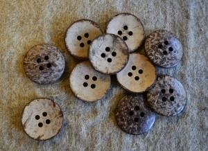 Kokosknapp, liten