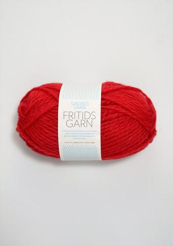 Sandnes Fritidsgarn, punainen 4120