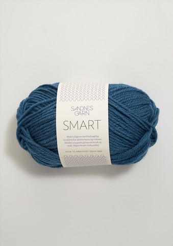 Sandnes Smart, mellanblå 6355