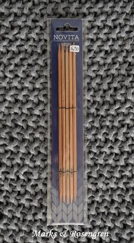 Novita strumpstickor, 20cm 6 - 9mm