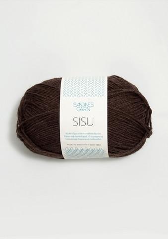 Sandnes Sisu, brun 3082