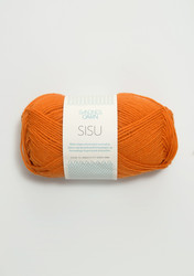 Sandnes Sisu, orange 3326