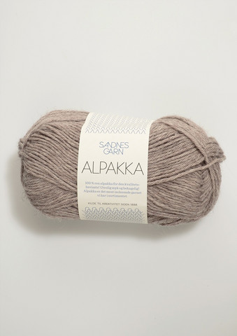 Sandnes Alpakka gråbeige 2650