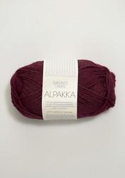 Sandnes Alpakka viininpunainen 4554