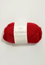 Sandnes Alpakka punainen 4219