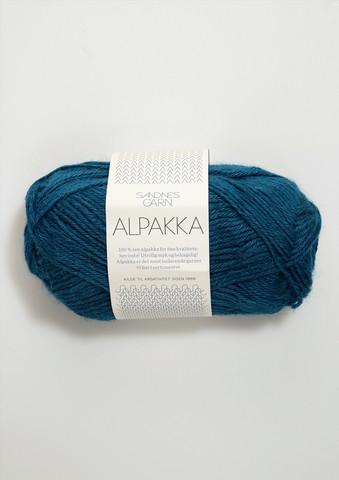 Sandnes Alpakka petrolblå 6554
