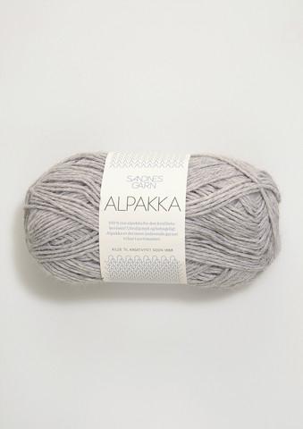 Sandnes Alpakka ljusgrå 1032