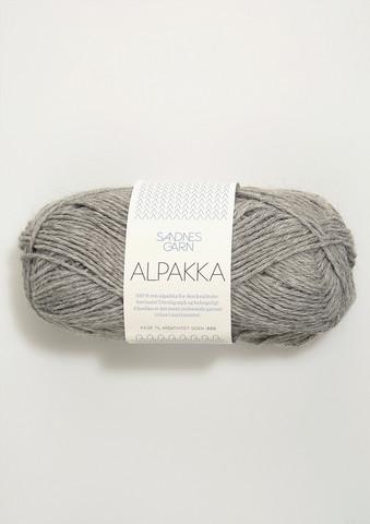 Sandnes Alpakka grå 1042
