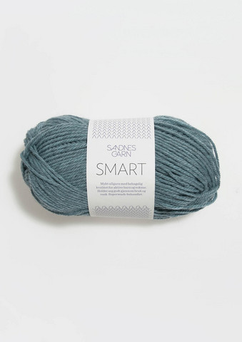 Sandnes Smart, sjögrön melerat 7252