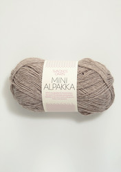 Sandnes Mini Alpakka, gråbeige melerat 2650