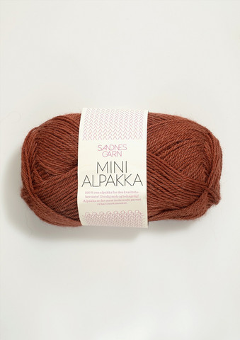 Sandnes Mini Alpakka, rost 3355