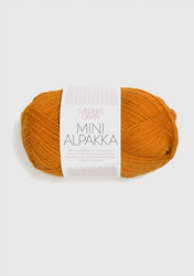Sandnes Mini Alpakka, guldockra 2337