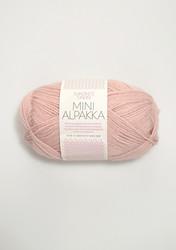 Sandnes Mini Alpakka, puderrosa 3511