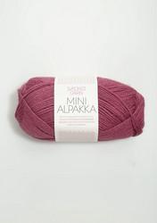 Sandnes Mini Alpakka, plommon 4644