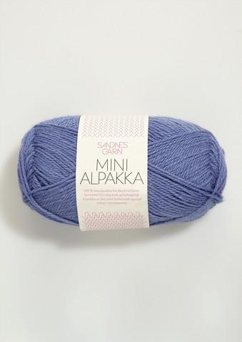 Sandnes Mini Alpakka, laventelinsininen 5834
