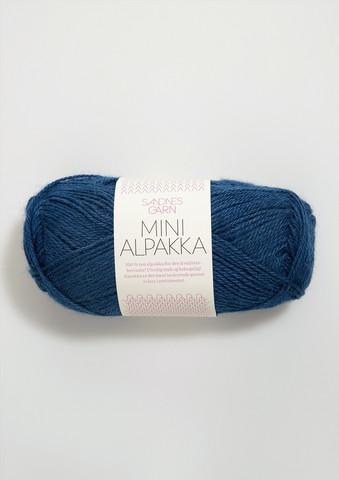 Sandnes Mini Alpakka, bläckblå 6063