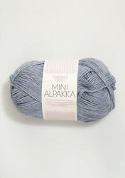 Sandnes Mini Alpakka, meleerattu vaaleansininen 6221