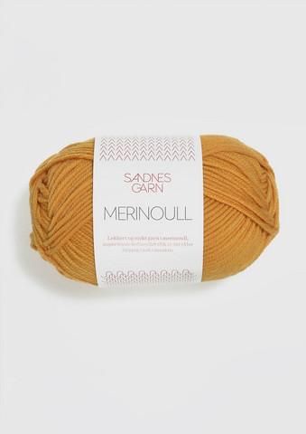 Sandnes Merinoull, honungsgul 2325