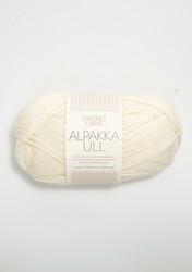Alpakka Ull, naturvit 1002