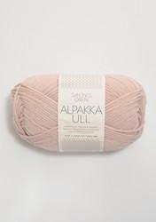 Alpakka Ull, puderrosa 3511
