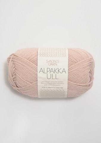 Alpakka Ull, puuteriroosa 3511