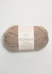 Alpakka Ull, beige 2650
