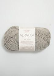 Alpakka Ull, grå 1042