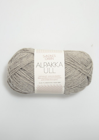 Alpakka Ull, harmaa 1042