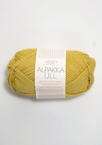 Alpakka Ull, maissinkeltainen 2015