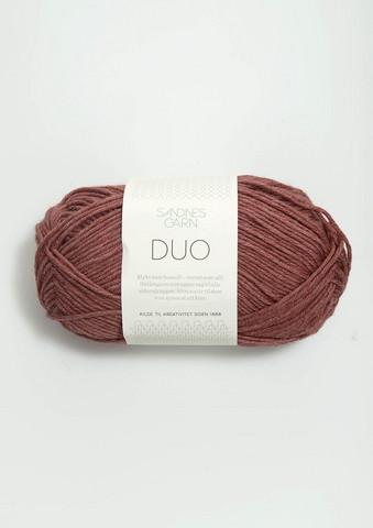 Duo, mörkt puderrosa 4344