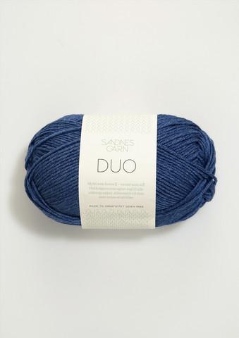 Duo, blåmelerat 5864