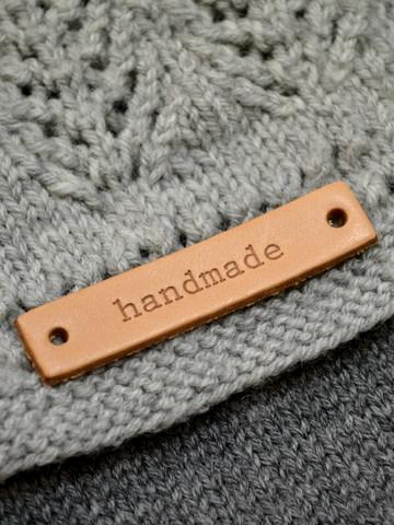 Handmade-merkki aitoa nahkaa