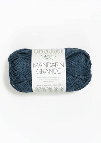Mandarin grande, tummansininen 6364