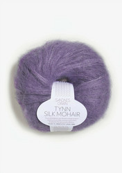 Tunn Silk Mohair, lila 5043