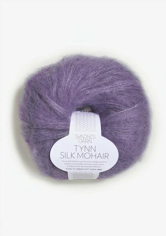 Ohut Silk Mohair, liila 5043