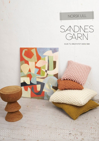 Sandnes mönsterhäfte Tema 52 Norsk ull