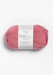 Sandnes Babyull Lanett, dimmig gammalrosa 4023
