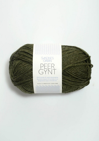 Peer Gynt, mörkt grönmelerad 9572