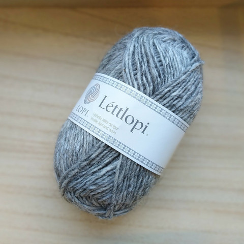 Léttlopi, light grey heather 0056