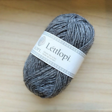 Léttlopi, grey heather 0057