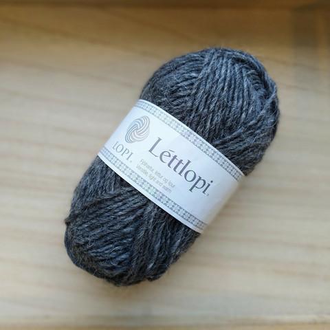 Léttlopi, dark grey heather 0058