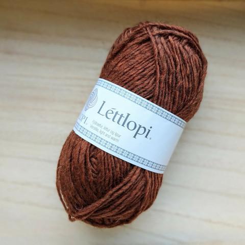 Léttlopi, rust heather 9427