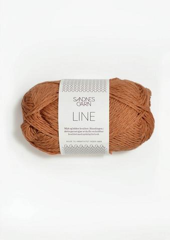 Sandnes Line, bränd sand 2734