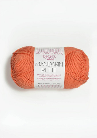 Sandnes Mandarin Petit, orange 3316